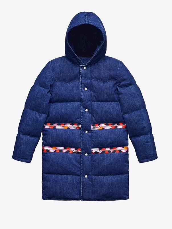Denim Down Jacket ($399)