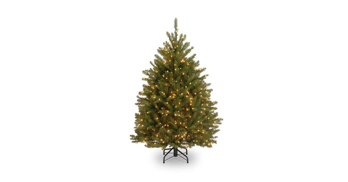 National Tree 4-1/2 Foot Dunhill Fir Tree With 450 Clear