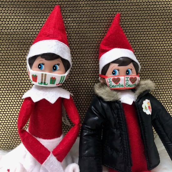 Elf on the Shelf Face Masks