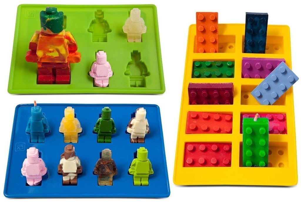 Lego-Shaped Silicone Candy Molds
