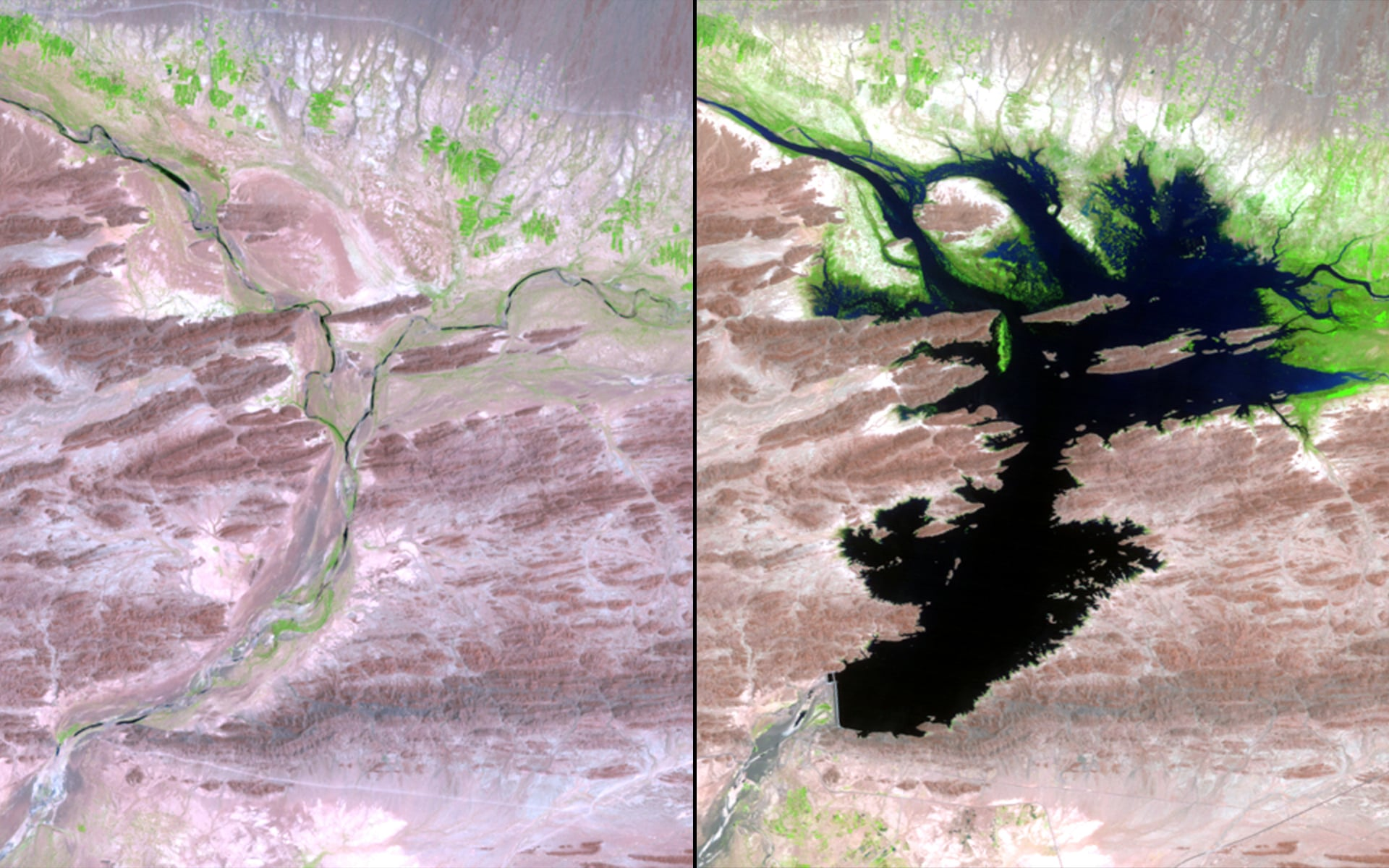 Dam Impact, Pakistan