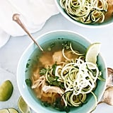 Slow-Cooker Paleo Chicken Pho with Zoodles