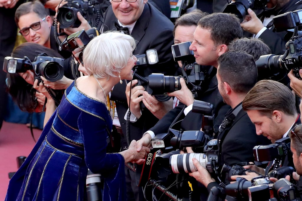 Helen Mirren at Cannes Film Festival