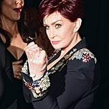 Sharon Osbourne was ready to rumble.