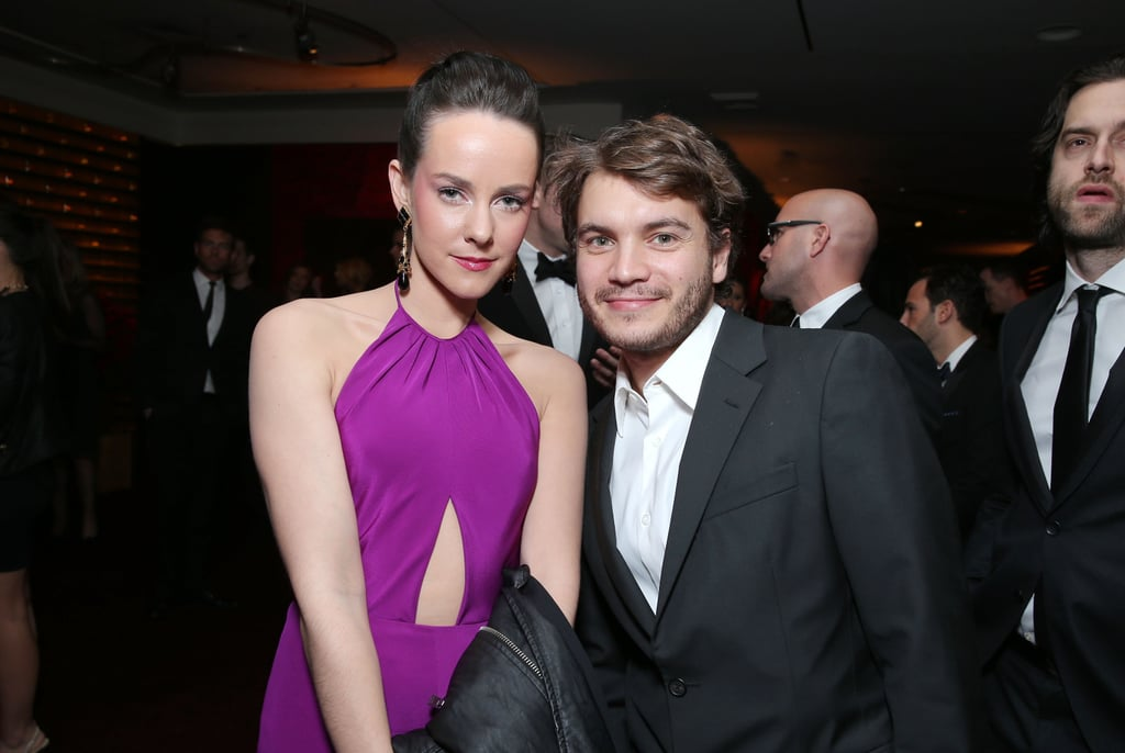 Jena Malone and Emile Hirsch posed for a picture.