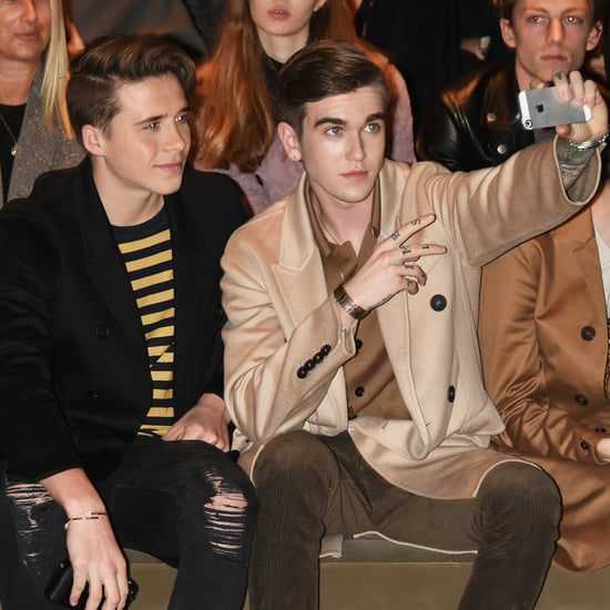 Celebrities at London Collections: Men