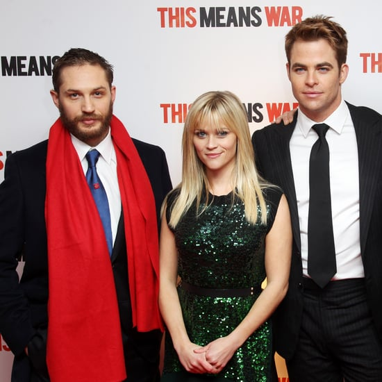 This Means War London Premiere Pictures With Reese Witherspoon, Chris Pine, Tom Hardy