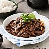 Chinese Beef With Black Pepper and Honey Sauce
