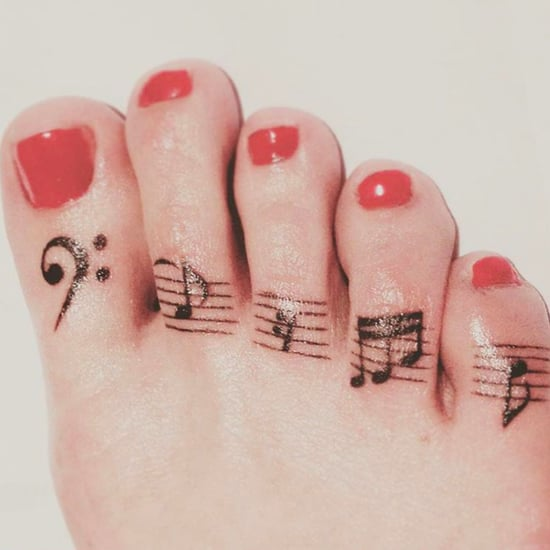 Toe Tattoo Ideas