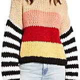 Blank NYC Sweetheart Stripe Sweater