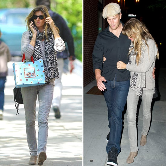 Tom Brady and Gisele Bundchen Pictures in NYC