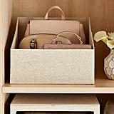 Linen Purse Storage Bin