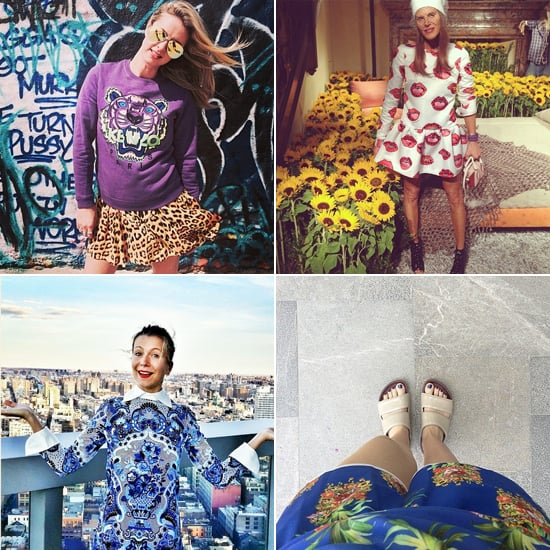 We're Sensing a Pattern With This Week's Most Stylish Social Snaps