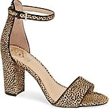 Vince Camuto Corlina Genuine Calf Hair Ankle Strap Sandal