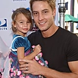 Justin Hartley Family Pictures