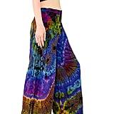 Orient Trail Women's Cold Dyed Tie-Dye Wide Leg Palazzo Yoga Pants