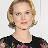 For those who may be a little gun-shy about going for a major crop, Rachel Wood's longer pixie-style cut is a great option.