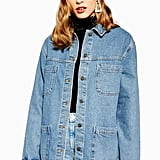 Topshop Oversized Denim Shacket