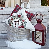 Joy in Wreath Pillow
