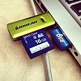 Make room for new pictures by clearing out your SD cards.  Source: Instagram user umru