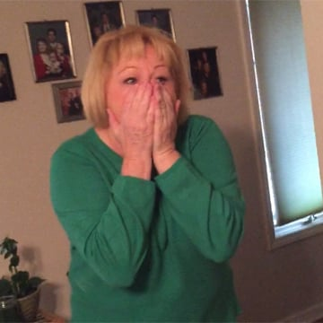 Couple Surprises Grandma With Adoption News
