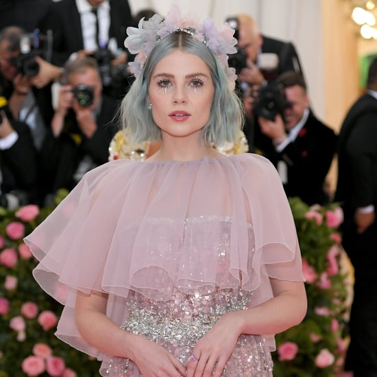Lucy Boynton's Blue Hair at the 2019 Met Gala