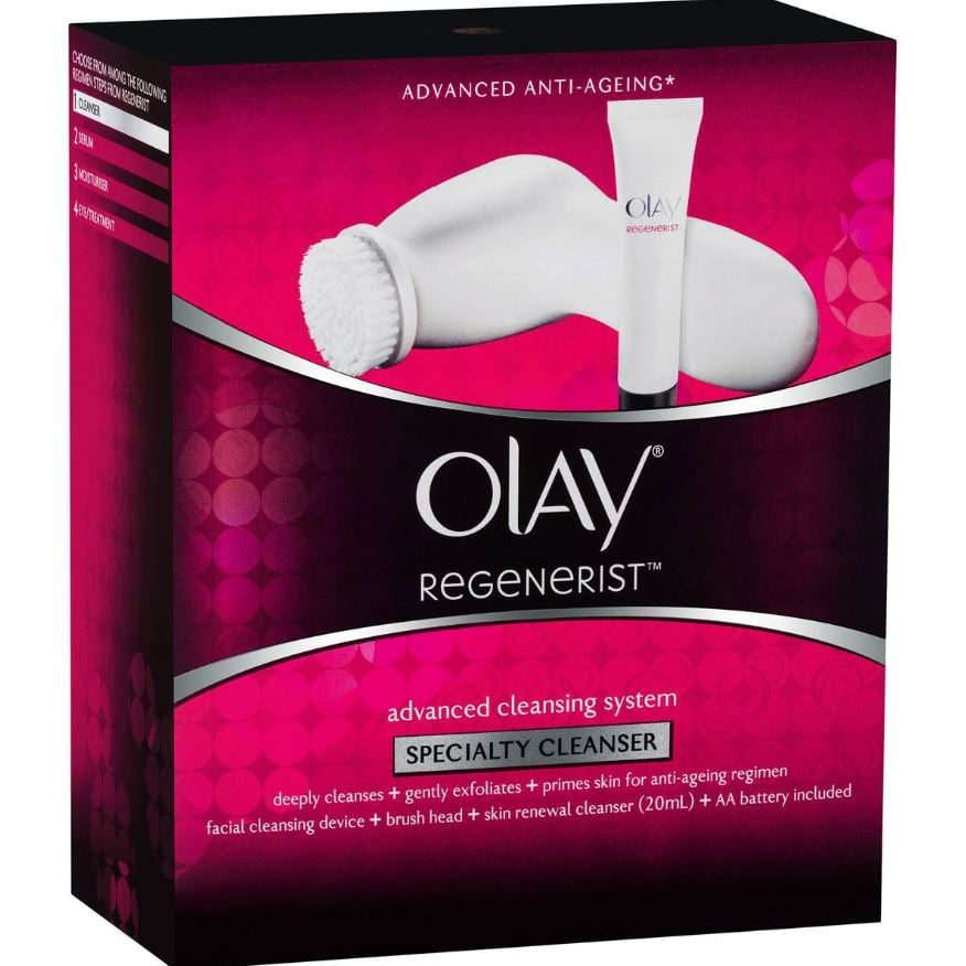 Olay Regenerist Facial Cleanser Device Kit ($17.50, originally $35)