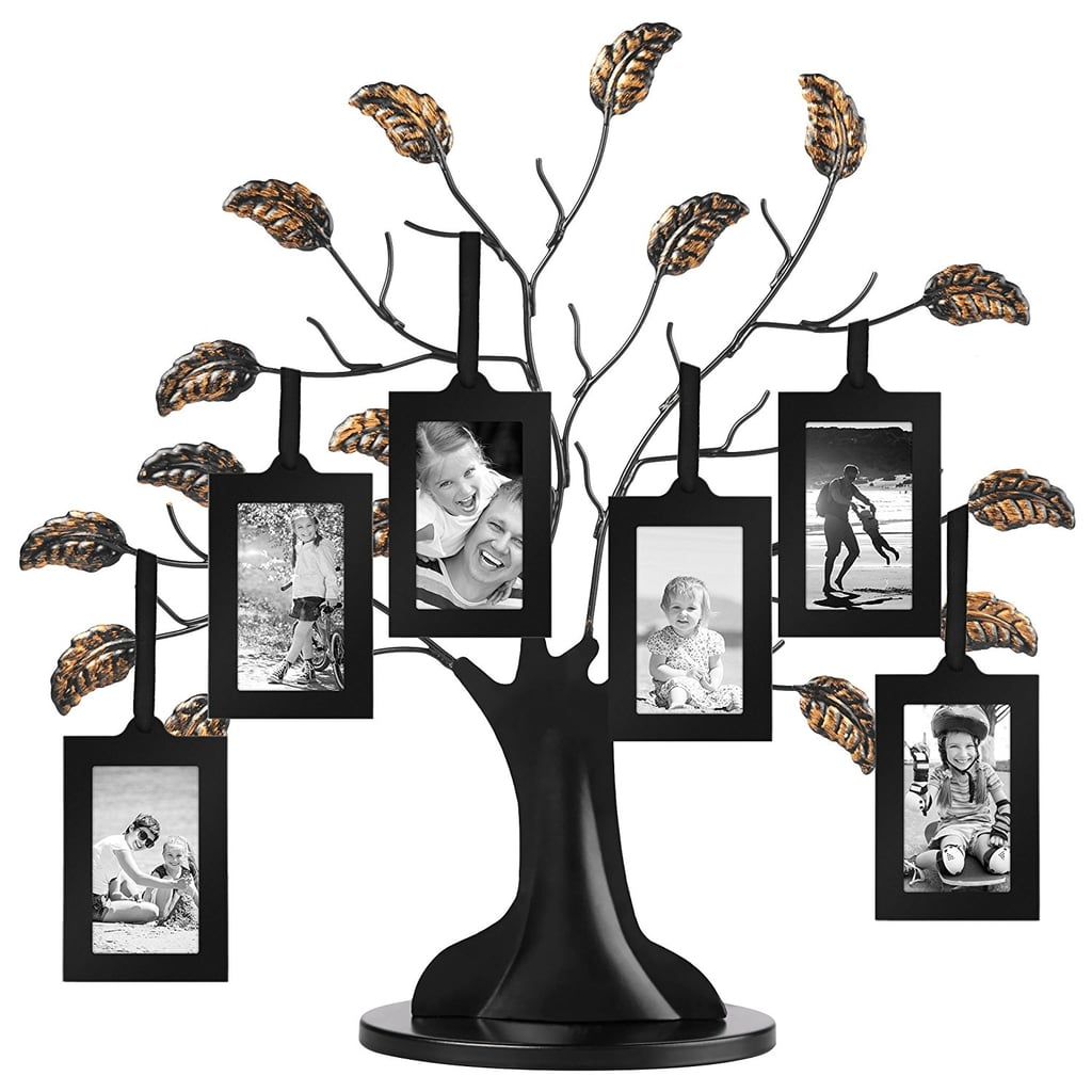 Philip Whitney Metal Family Tree Picture Frame