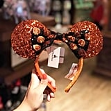 You can add Halloween Minnie ears to your collection.