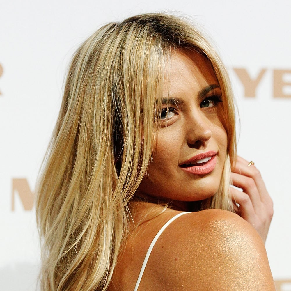 In 2013 at the Myer show, Jesinta showed-off her newly lightened locks.
