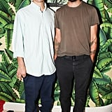 Lazaro Hernandez and Jack McCollough dined with Purple Fashion magazine at Paul's Baby Grand.