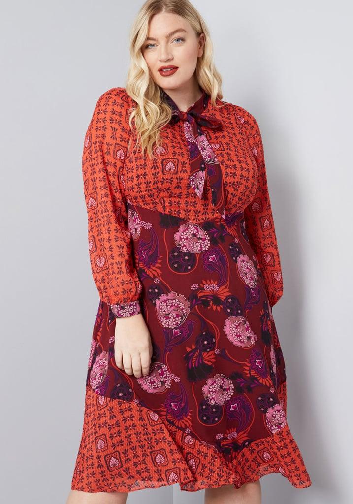 ModCloth x Anna Sui Unforgettable Flair A-Line Dress