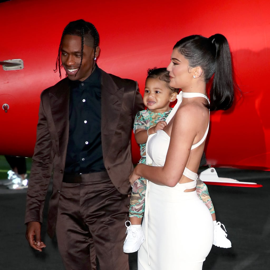 Stormi Webster on Red Carpet With Kylie Jenner Travis Scott