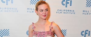 Elle Fanning Transformed Into Elle Woods, and All It Took Was 1 Dress