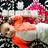 Molly Sims shared a cute snap of baby Scarlett's 2-month birthday!