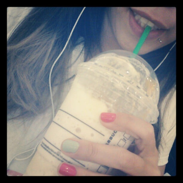 """Drinking a Frappuccino While """"Working Out"""""""