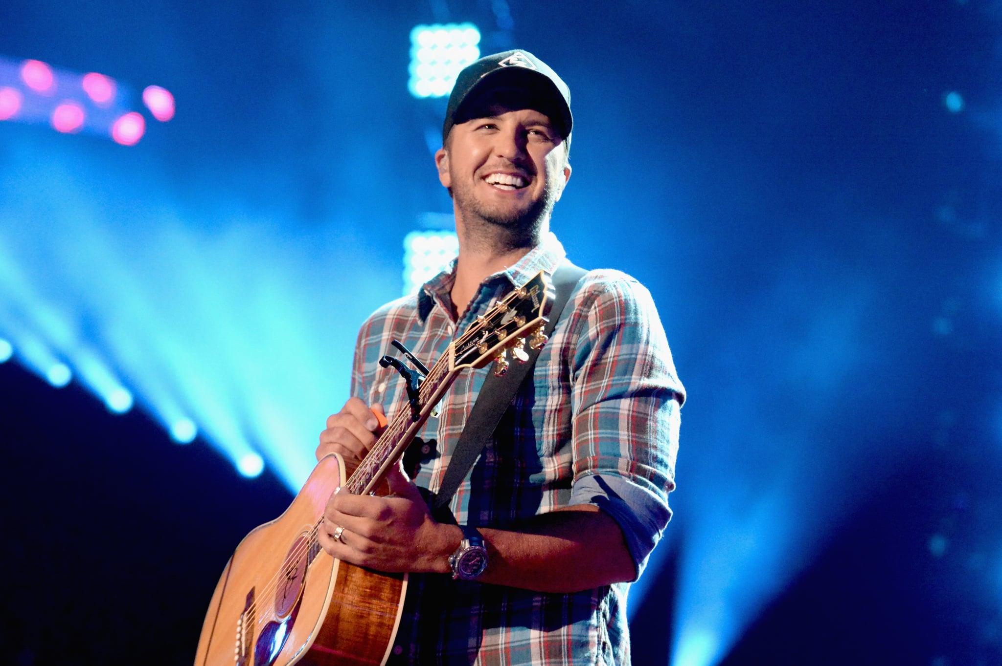 NASHVILLE, TN - JUNE 08:  Luke Bryan performs onstage during the 2016 CMT Music awards at the Bridgestone Arena on June 8, 2016 in Nashville, Tennessee.  (Photo by Jeff Kravitz/FilmMagic)