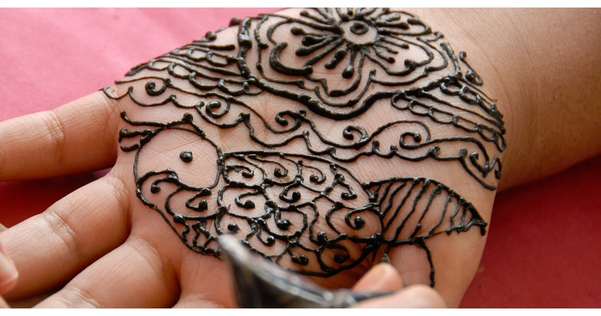 Are Henna Tattoos Safe Popsugar Fitness