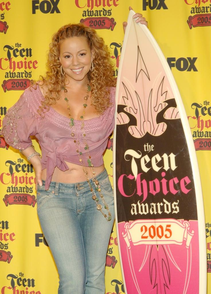 Mariah Carey Showed Off Her Abs