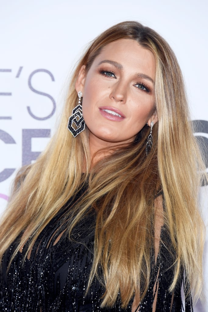 "Blake Lively always manages to own the red carpet during award season, and her hair and makeup at the 2017 People's Choice Awards are giving us a big dose of inspiration.  Blake, who is nominated for favorite dramatic movie actress, posted a behind-the-scenes snapshot on Instagram showing her beauty squad prepping her for the red carpet. The blond bombshell expressed gratitude to her hair and makeup crew in a behind-the-scenes image. She captioned, ""Thank you @lorealmakeup @kristoferbuckle @rodortega4hair @lorealhair for making me look like I slept more than 2 hours last night."" Oh, the power of a fab glam team!   When the mother of two took the red carpet, we couldn't help but admire how she went au naturel, opting for a simple, slightly wavy hairstyle. As for makeup, Blake donned subtly smoky brown eye shadow and muted pink lips. Her effortless beauty look allowed her sparkly fringe dress to do the talkin', which is exactly why we're taking notes and using this as inspiration for our everyday beauty routines. Keep reading for more photos of her gorgeous red carpet look, and be sure to check out the rest of our favorite beauty trends that debuted at the 2017 People's Choice Awards.      Related:                                                                                                           Swoon at All the Stunning Hair and Makeup From the People's Choice Awards"