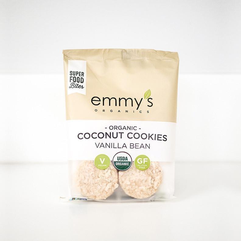 Emmy's Organics Vanilla Bean Coconut Cookies