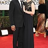 Chiwetel Ejiofor hit the red carpet with his other half.