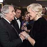 Pictured: Henry Winkler and Glenn Close