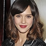 Jessica Alba With Short Hair and Side Bangs 2009
