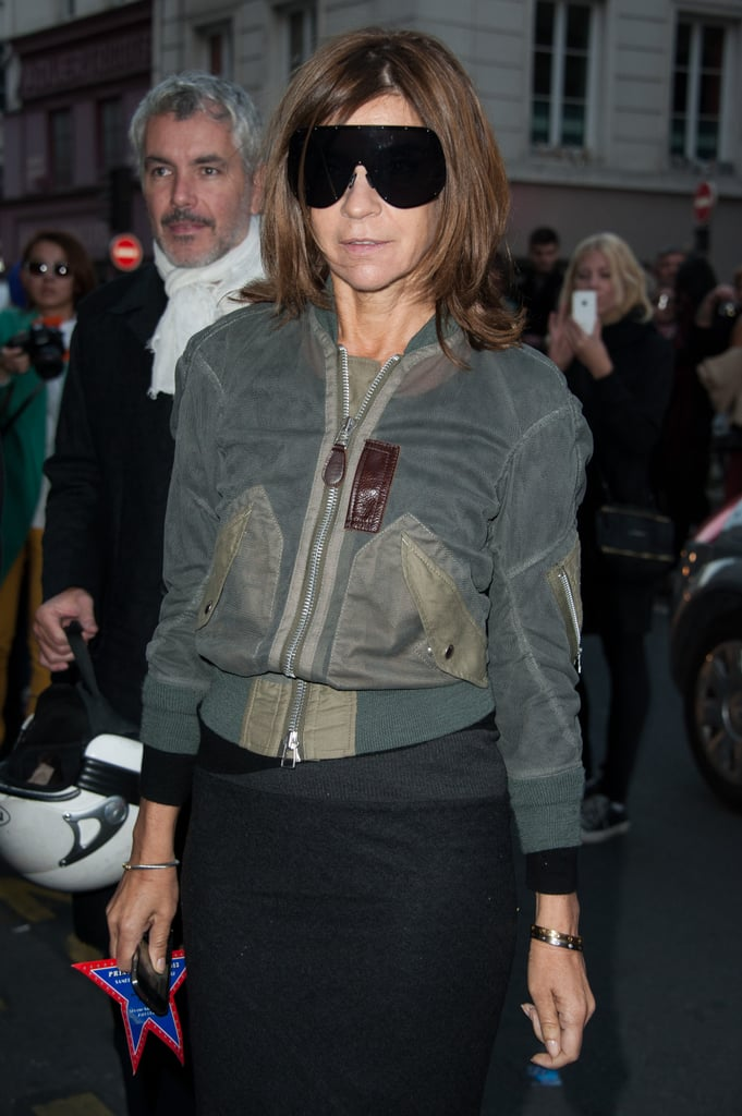 Carine Roitfeld Best Outfits   Pictures