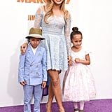 Jennifer Lopez's Twins Max and Emme at Home Event | Photos