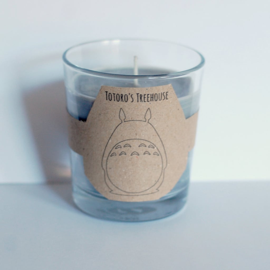 Totoro's Treehouse candle ($11) with flower, tree, fresh rain, and cut grass notes