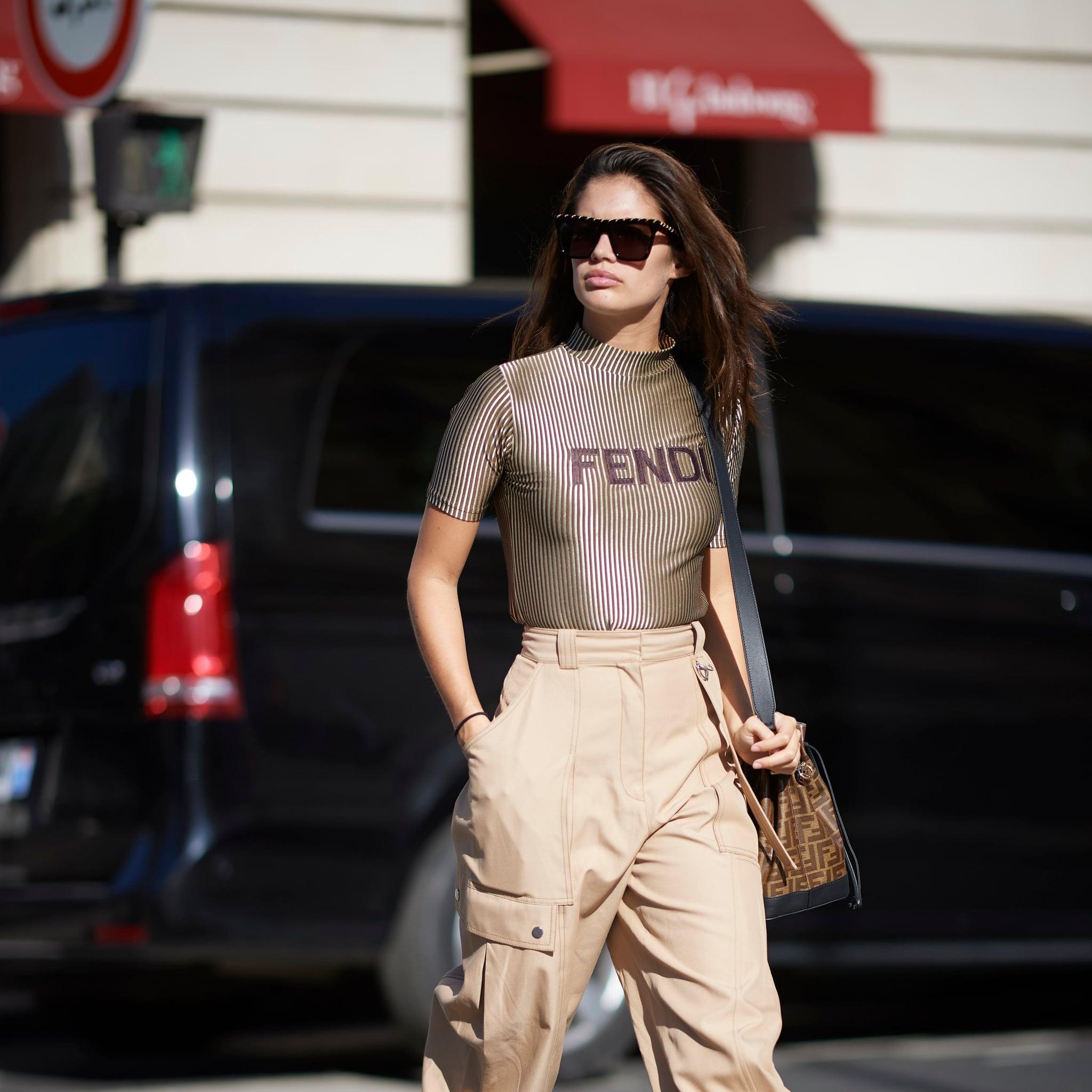 818e894df3d Model Street Style at Fashion Week Spring 2019 | POPSUGAR Fashion