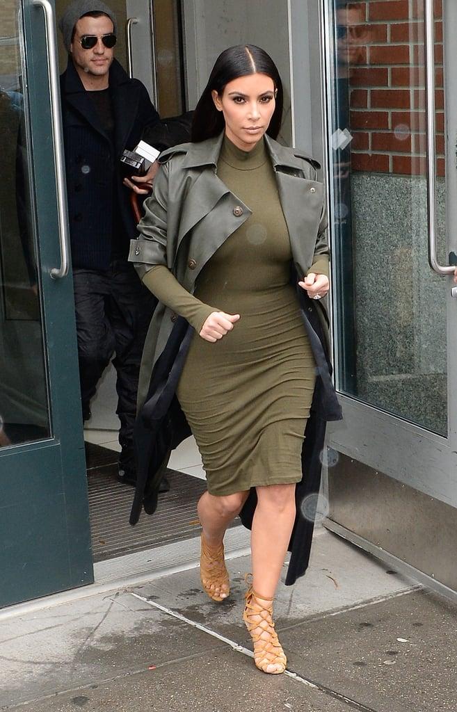 Kim Kardashian's Turtleneck Style
