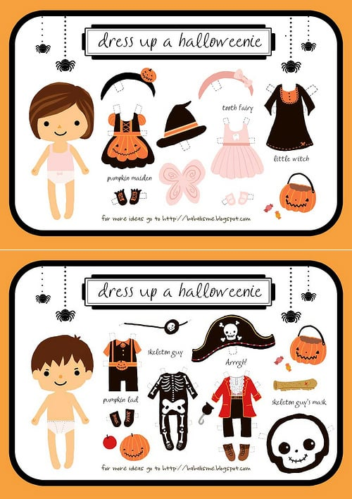 Dress Up a Halloweenie